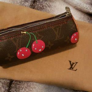 😍🍒Authentic Vintage Louis Vuitton Cherry!😍🍒